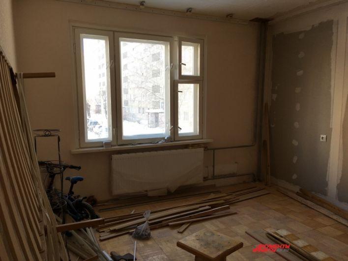 После сноса подъезда, где произошло ЧП, некоторые квартиры стали торцевыми.