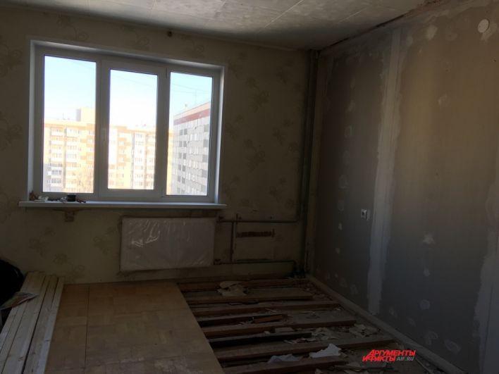 В квартирах нужно делать ремонт.