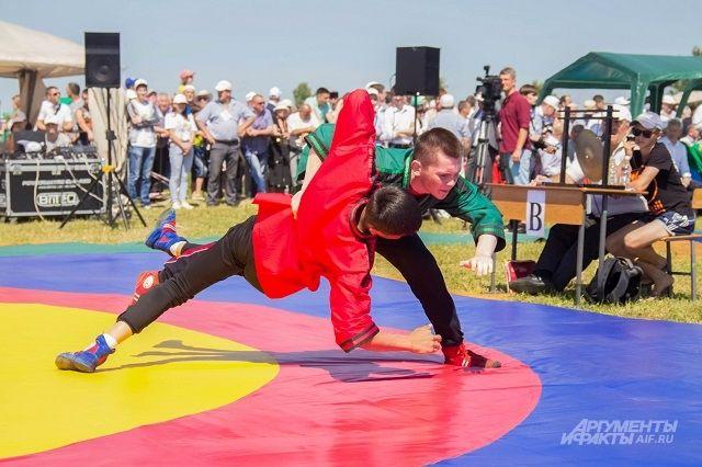 Куреш в Ноябрьске организаторы хотят сделать традиционным.