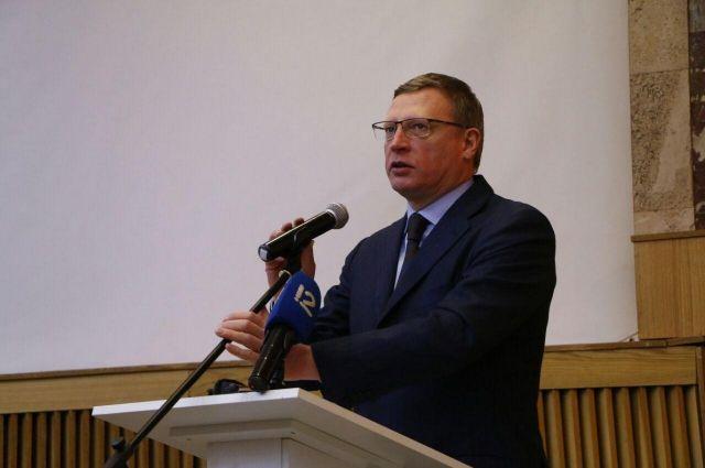 Бурков встретился с омскими бизнесменами.