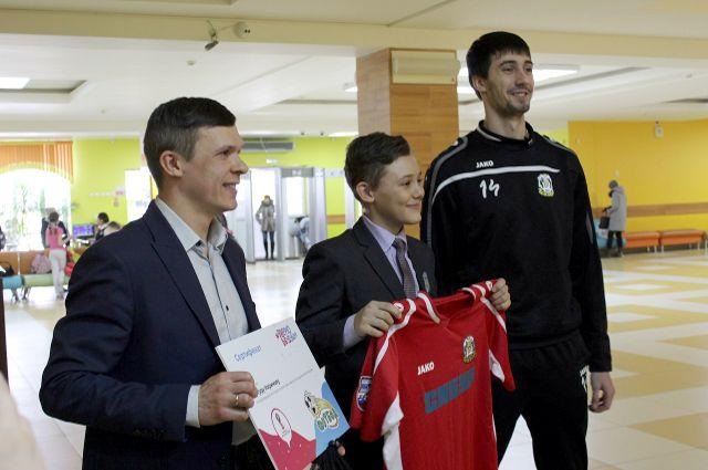 Тюменский школьник поедет в Москву на Чемпионат мира по футболу