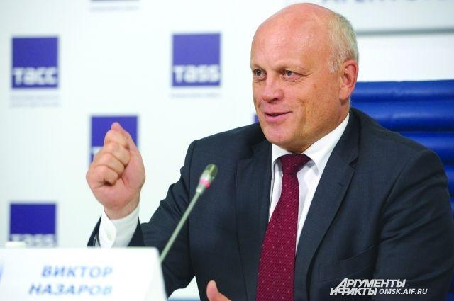 Виктора Назаров высказал свою точку зрения о проблемах региона.