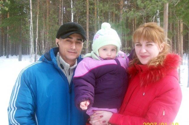 Иван Лукашевич с семьей. Фото 2007 года