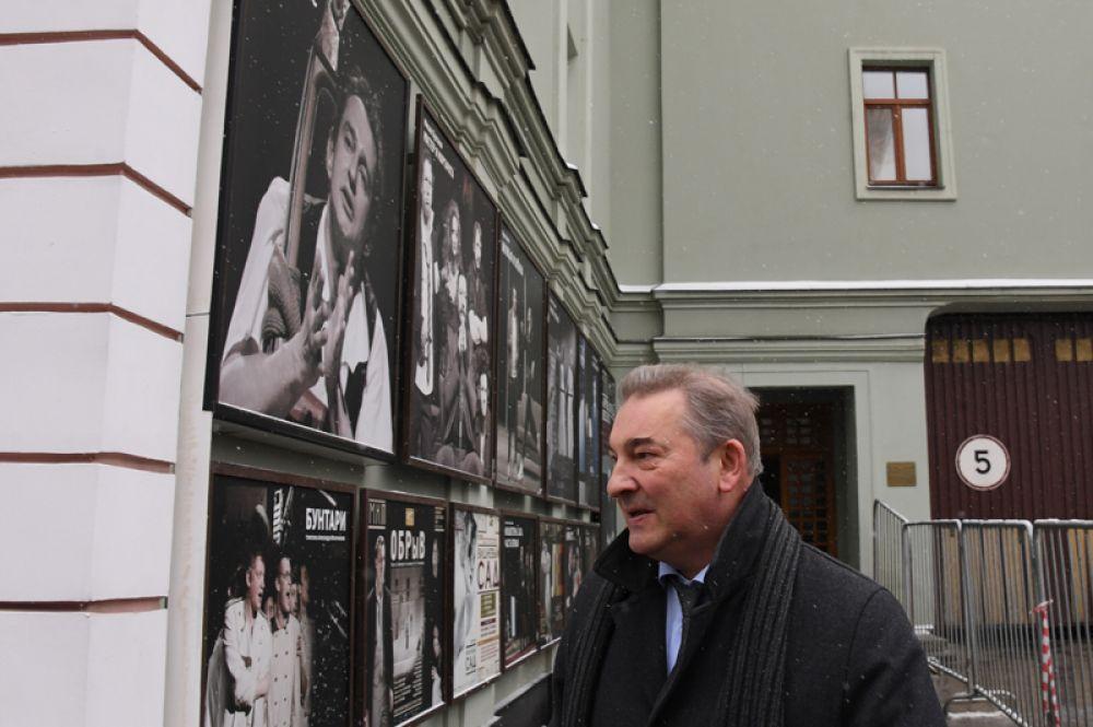 Президент Федерации хоккея России, депутат Государственной Думы РФ Владислав Третьяк.