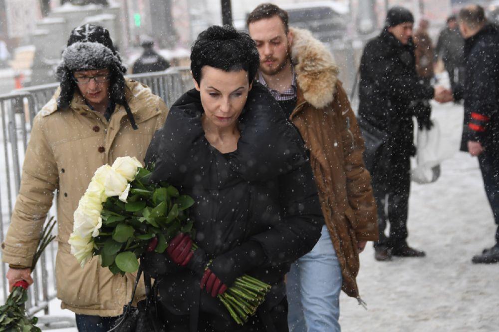 Директор Театра на Таганке, актриса Ирина Апексимова.