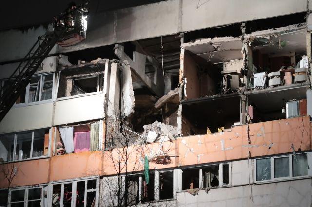13 семей обратились за финансовой помощью после взрыва газа в Петербурге