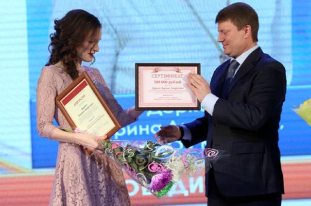 Первое место заняла Дарина Деркач, педагог из детского сада №91.