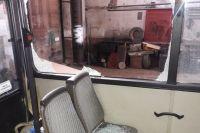В одном из обстрелянных автобусов были пассажиры