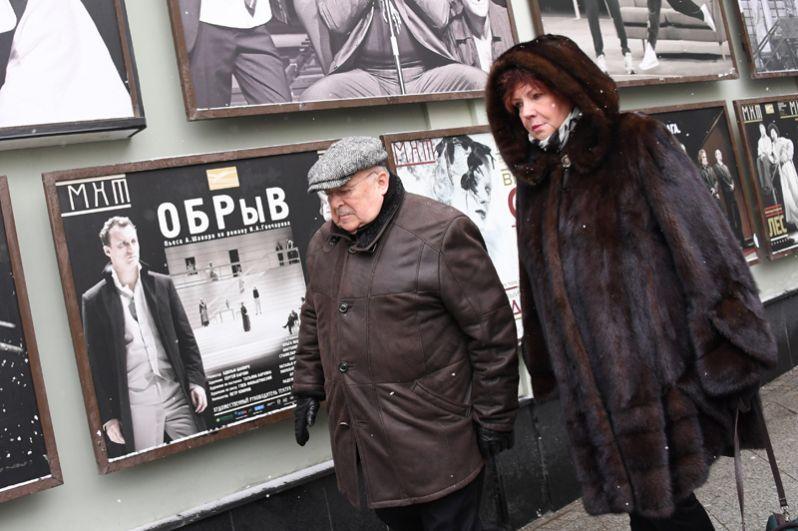 Актер, режиссер, председатель Союза театральных деятелей РФ Александр Калягин.