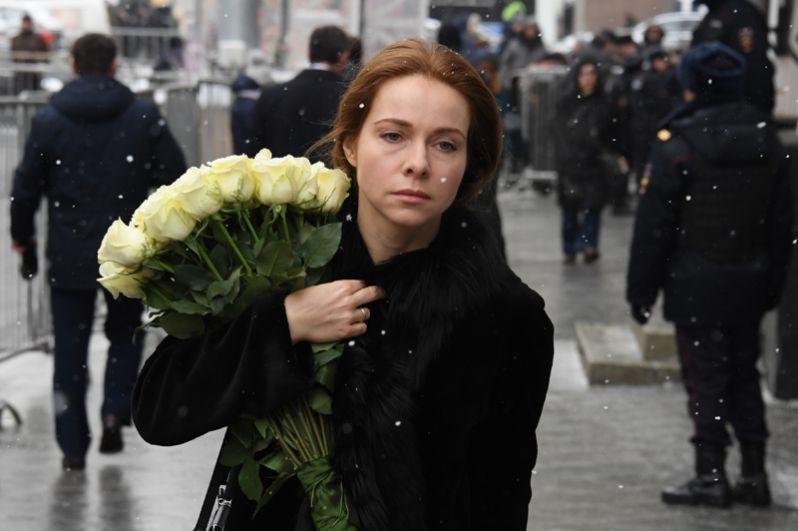 Актриса Екатерина Гусева.