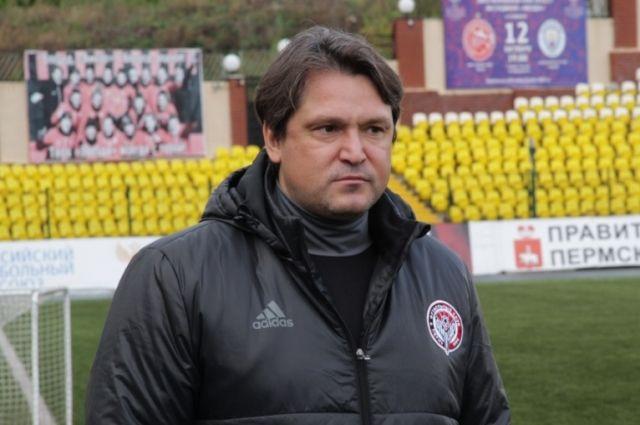 Вадиму Евсееву предстоит решить непростую задачу - сохранить пермский клуб в Премьер-лиге.