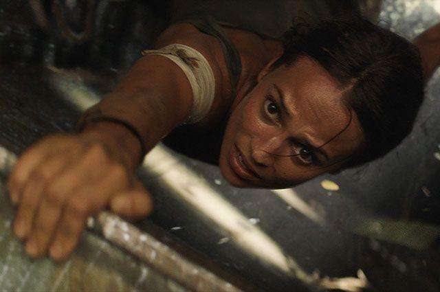 Алисия Викандер в фильме «Tomb Raider: Лара Крофт».