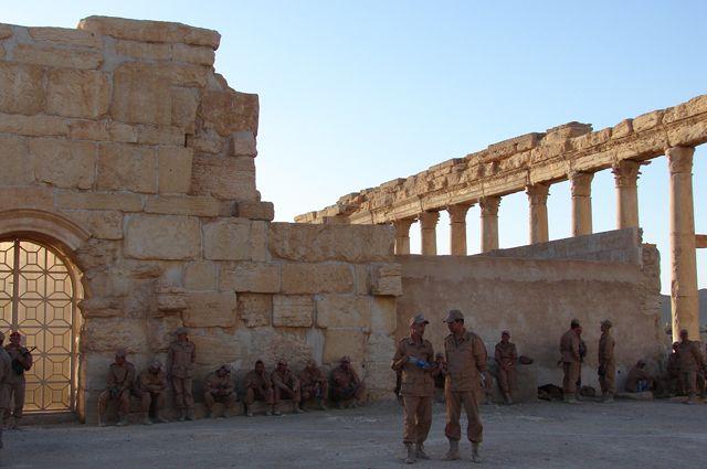 Сирийские военные взяли под контроль населенный пункт в Восточной Гуте