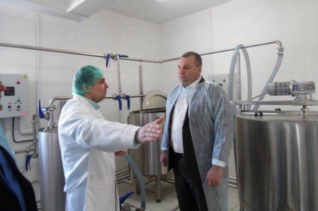 В Кемеровской области открылся новый цех по переработке молока.