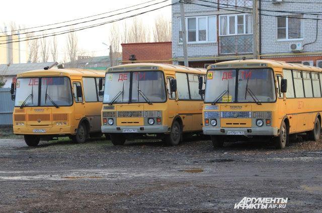 Сельских жителей повезут голосовать на школьных автобусах.
