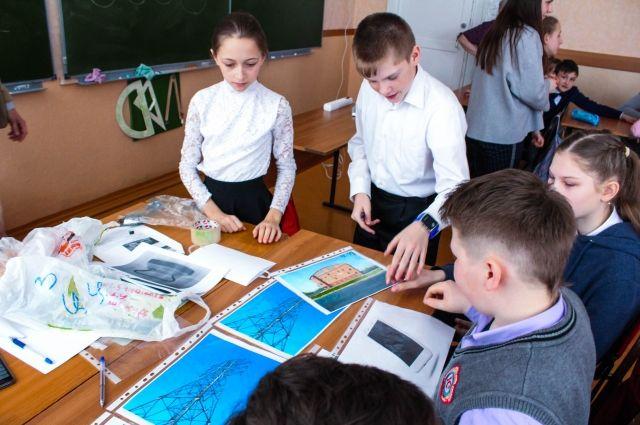 Школьники познакомились с профессиями энергетической отрасли.