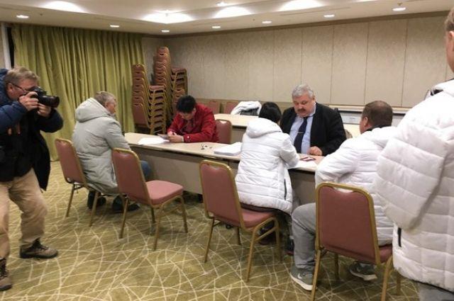 Досрочное голосование в Пхенчхане