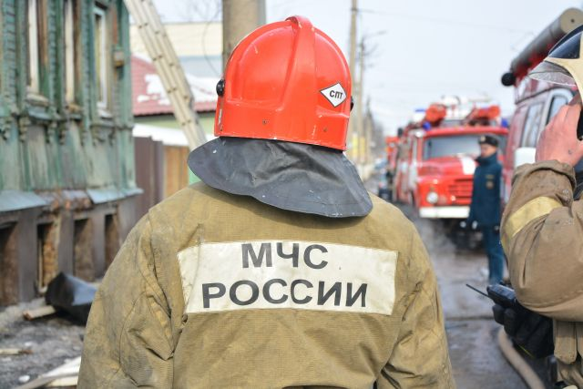 Пенсионер погиб при пожаре в частном доме в поселке Шалым.