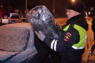 В Калининграде у водителя нашли 25 кг марихуаны.