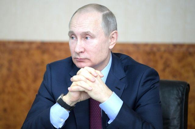 Путин поручил подготовить проект указа о национальных целях развития РФ