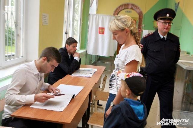 Более 2 тысяч сотрудников полиции будут дежурить на выборах в Калининграде.