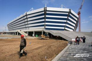 Первый матч на новом стадионе сыграют 11 апреля.