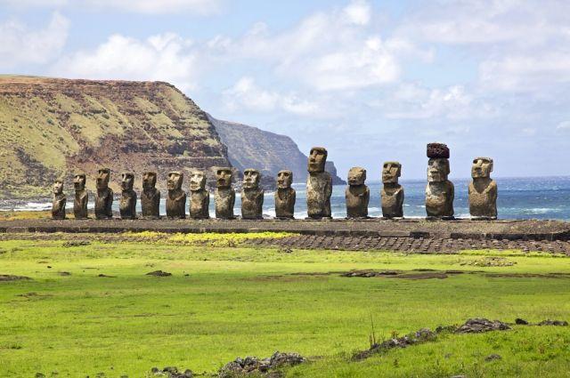 Древние статуи с острова Пасхи могут затонуть - Real estate