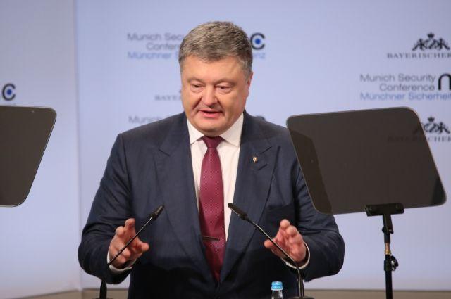 Порошенко заявил об операции Объединенных сил в Донбассе