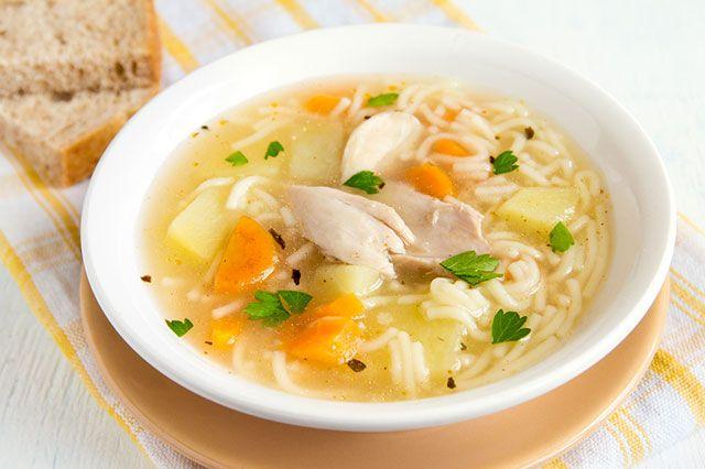 Куриный суп с вермишелью для годовалого ребенка — pic 8