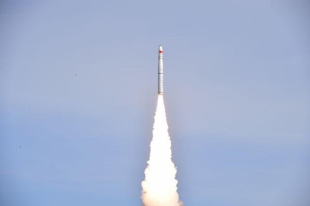 КНР запустил наорбиту спутник дистанционного зондирования Земли