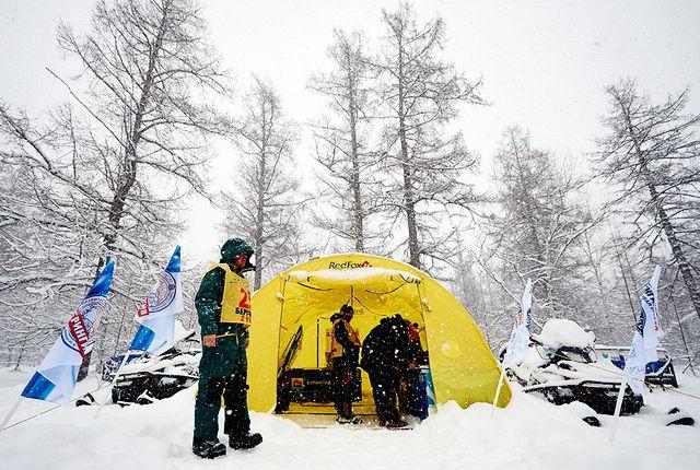 Участники «Берингии-2018» проголосовали в лесу.