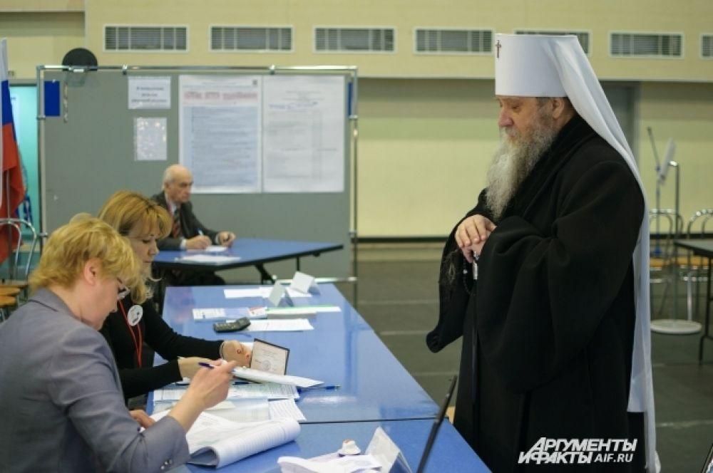 Вениамин, митрополит Оренбургский и Саракташский.