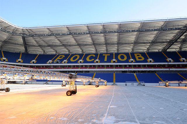 К ЧМ-2018 готовы! Cтадион «Ростов-Арена» сдан в эксплуатацию