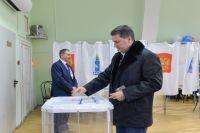 Дмитрий Кобылкин: «У нас традиция семейная – мы всегда приходим вместе, голосуем на избирательном участке».