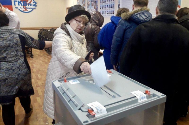 Активно голосуют и жители Самарской области.