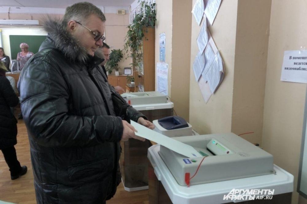 В Ярославле уже к полудню проголосовало более трети избирателей.