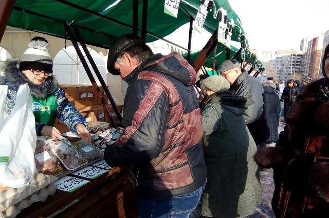 Продажами на «Тюменской весне» остались довольны местные производители