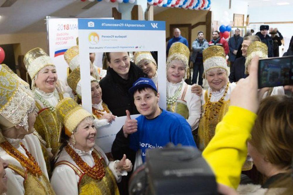Сергей Безруков и голосовач