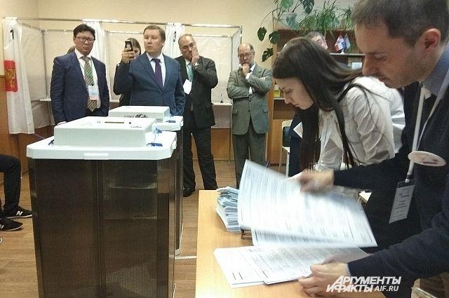 Собянин поблагодарил Общественный штаб за образцовое наблюдение на выборах