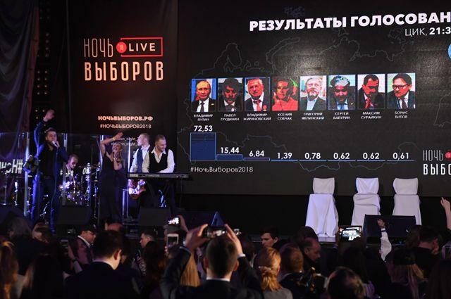 «Чувствуется настоящий праздник». Как в Москве следили за ходом голосования