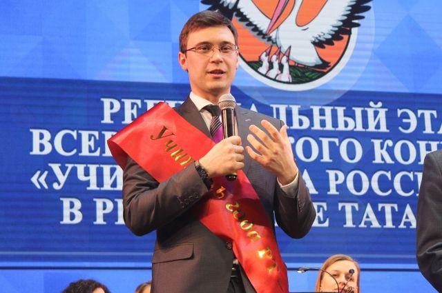 Педагог физики Радик Хабиров представитРТ наконкурсе «Учитель года»