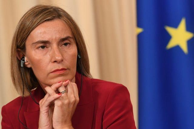 Могерини заявила, что Евросоюз поддерживает Лондон по делу Скрипаля