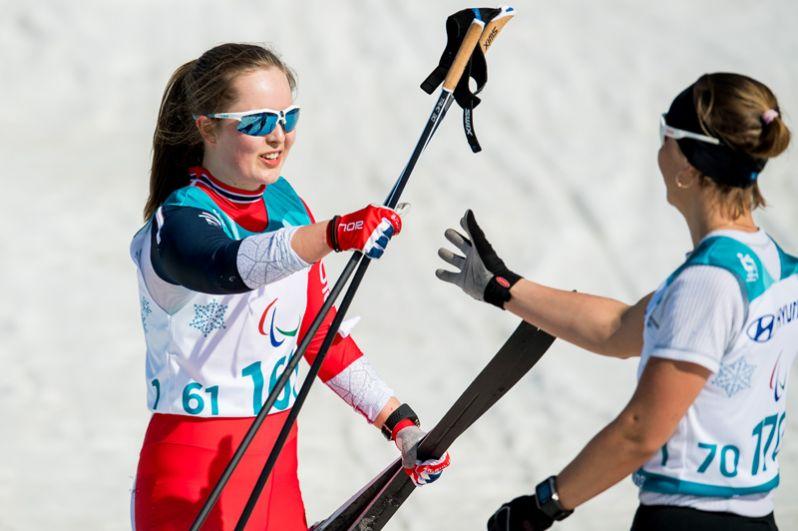 На счету Анны Милениной — пять медалей: две золотые медали (лыжные гонки на 1 км и биатлон на 12,5 км) и три серебряные (лыжные гонки на 6 и 15 км и биатлонные гонки на 10 км). Она стала семикратной чемпионкой Паралимпиад – такого результата ещё не было ни у кого из российских паралимпийцев, выступающих в зимних видах.