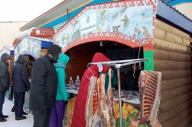 Мясо на ярмарке упало в стоимости на треть.