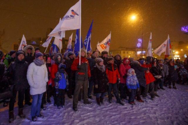 Митинг в Ханты-Мансийске