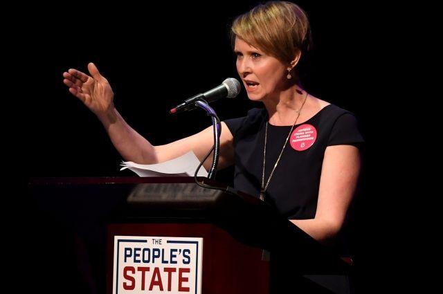 Звезда «Секса в большом городе» поборется за пост губернатора Нью-Йорка