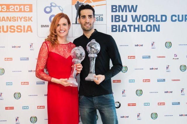 Французский биатлонист Мартен Фуркад прибыл вТюмень