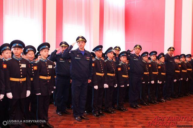 Будущих кадетов ждут в Тюменском президентском кадетском училище
