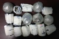В машине обвиняемого обнаружили 3,7 кг расфасованных в пакетики наркотиков.