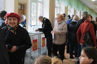 На избирательных участках у забайкальцев хорошее настроение и вера в лучшее.